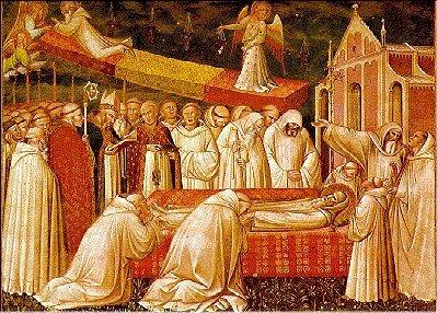 La morte del Santo