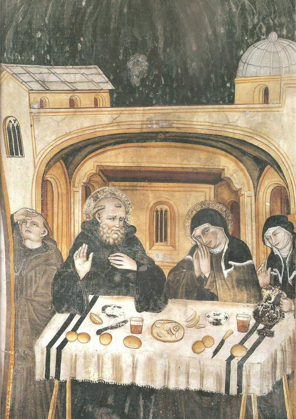 S gregorio magno la vita di san benedetto dal libro ii dei dialoghi - Vi metto a tavola san benedetto ...