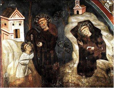 Il monaco Romano e lo speco