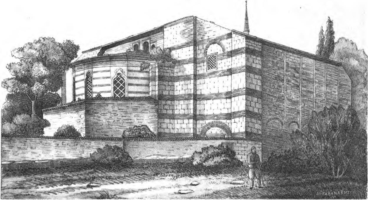 Monastero di Studion nel 1877